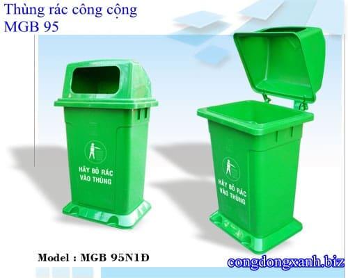 thùng rác MGB 95