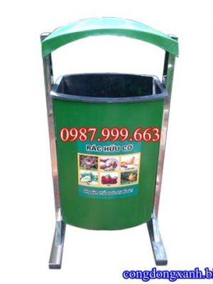 thùng rác composite treo 80 lít