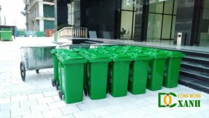 Bán thùng rác các loại