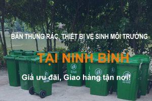 Bán thùng rác & thiết bị vệ sinh môi trường tại Ninh Bình