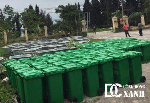Cung cấp thùng rác, xe gom rác tại QUảng Ninh